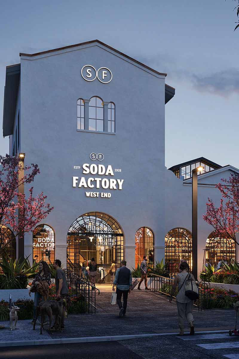 Soda Factory West End | TLPC
